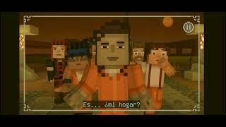 minecraft story mode season two/inicio episodio 4/personas disfrazadas de animales