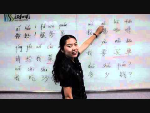 Learn Chinese- Beginner Mandarin Lesson 3, Elite Chinese Tutor.wmv