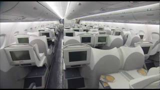 Interior del A380 de China Southern Airlines
