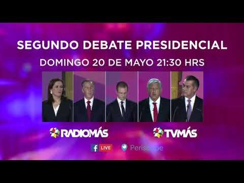 Spot 2DO DEBATE PRESIDENCIAL TVMás