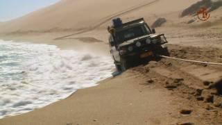 Namibia erleben / Teil 2 - Dünenfahren im Diamantensperrgebiet.