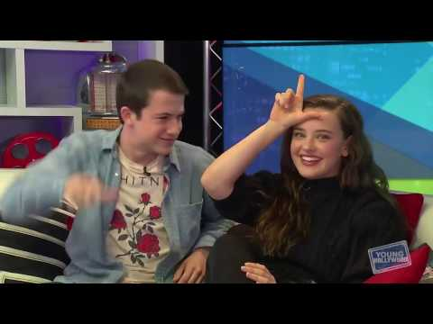 [LEGENDADO] Dylan Minnette e Katherine Langford em entrevista para o Young Hollywood