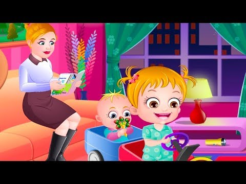 Baby Hazel Sibling Trouble - Nanny Babysitting Baby Care Game - Baby Games Videos