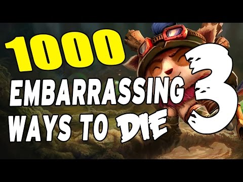 1000 Most Embarrassing Ways to Die in League #3