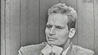 What's My Line? - Charlton Heston;  Douglas Fairbanks Jr [panel] (Oct 28, 1956)