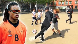 PLAYING STREETBALL IN AMSTERDAM WITH EDGAR DAVIDS