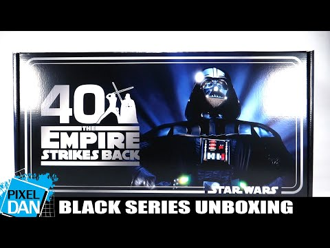 Star Wars Black Series Empire Strikes Back 40th Anniversary Figure Unboxing