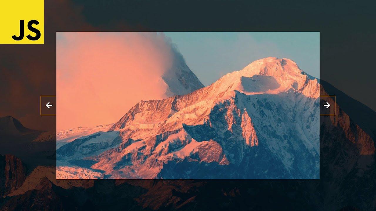 Image Slider In HTML, CSS & Javascript