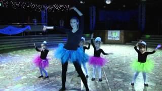 Выступление детей. Танцы для детей 4-6 лет. Студия Капелия, Чебоксары.