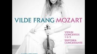 Vilde Frang records Mozart Violin Concertos album