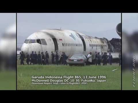 Garuda Indonesia Flight 865 Crash - 13 June 1996