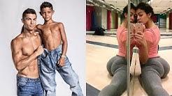 Cristiano Ronaldo Freundin und Kinder 😍 2018