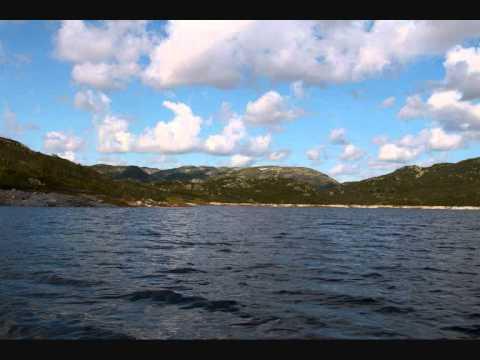 Fisketur på Songa i Telemark.