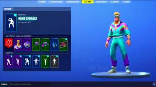 """NOVO* Emote Faz o L com as novas Skins (Fortnite Battle Royale)"