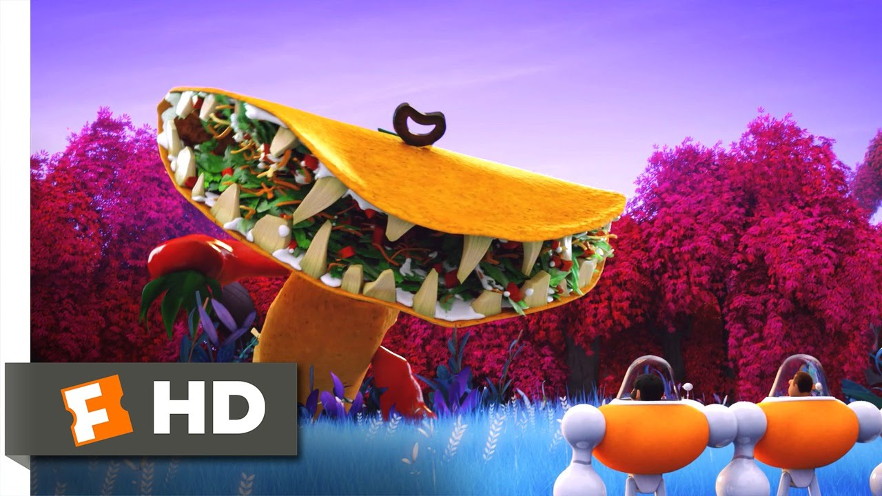 cloudy with a chance of meatballs 2 tacodile. wolkig mit aussicht