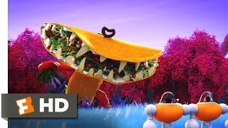 Cloudy with a Chance of Meatballs 2 - Tacodile Supreme Scene (6/10) | Movieclips thumbnail