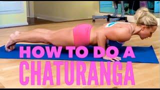 How to Do Chaturanga in Yoga