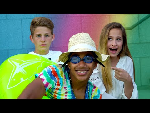 Thumbnail: Try Not To Laugh! (MattyBRaps & Liv VS Justin)