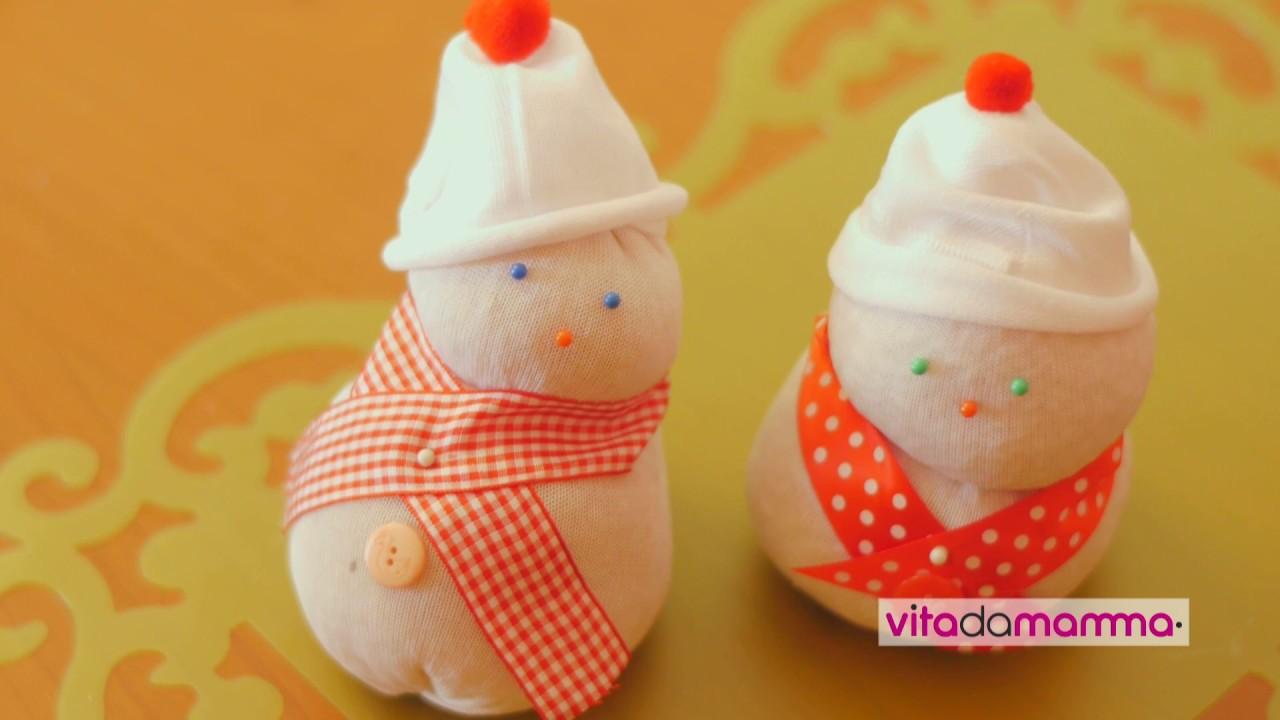 Lavoretti di natale per bambini pupazzo di neve youtube for Youtube lavoretti per natale