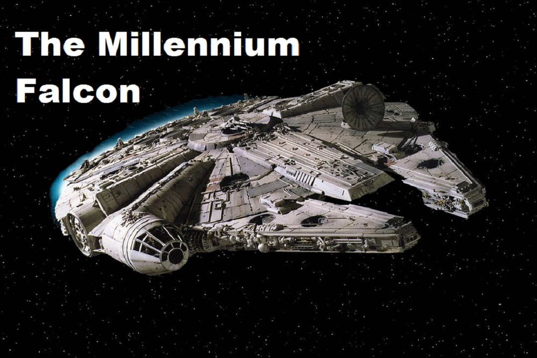 the millennium falcon x wing flight youtube. Black Bedroom Furniture Sets. Home Design Ideas