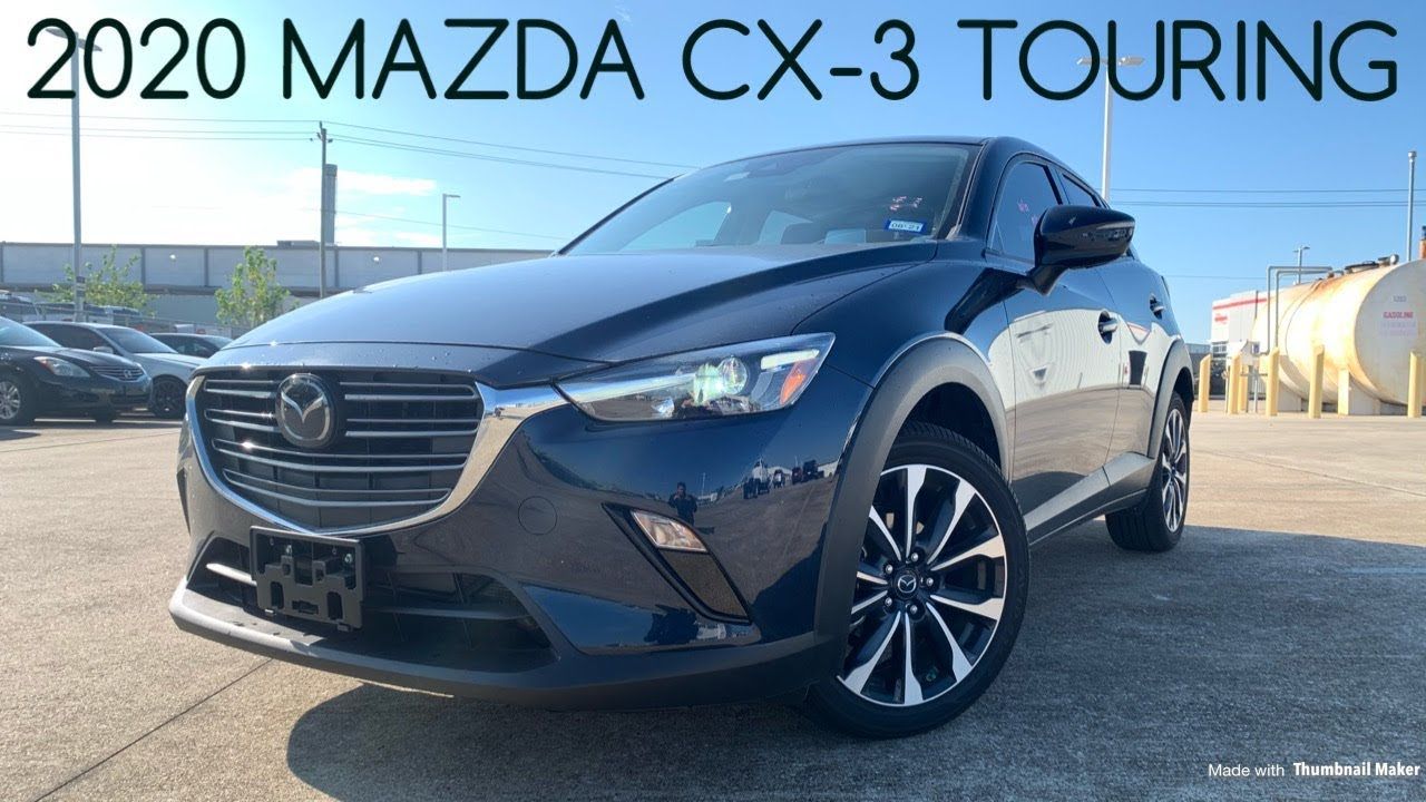 2020 Mazda Cx 3 Touring 2 0l Start Up Review Youtube