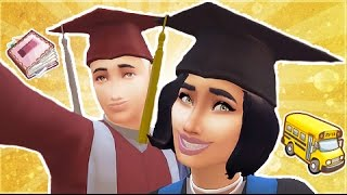 The Sims 4: The Graduation Mod    Functioning Event (Mod Review)