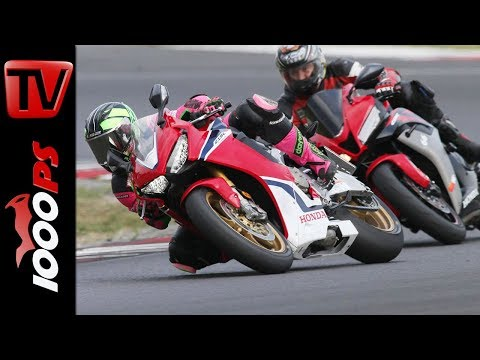 Motorradfahren auf der Rennstrecke - Tipps für Blickführung und Sitzposition - Umstieg 600 auf 1000