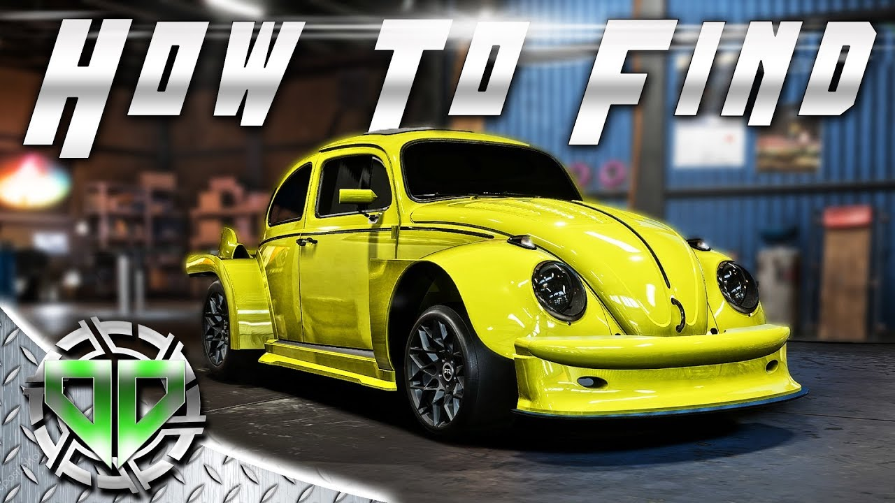 How to Find Derelict VW Bug Parts : Need for Speed Payback Gameplay : PC  Let's Play