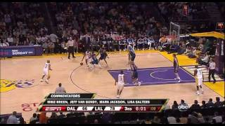 Mavericks 100 @ Lakers 107 | Ariza career high 26 points | 03-15-09