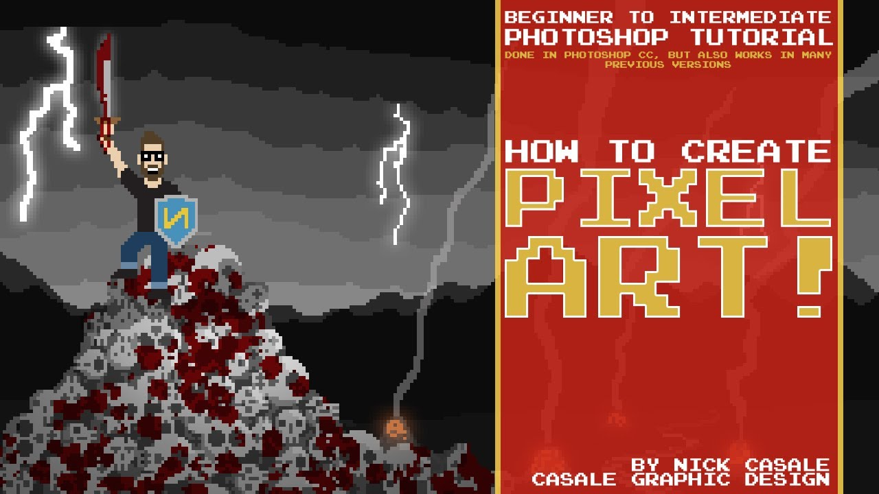 How Do You Make Pixel Art In Photoshop