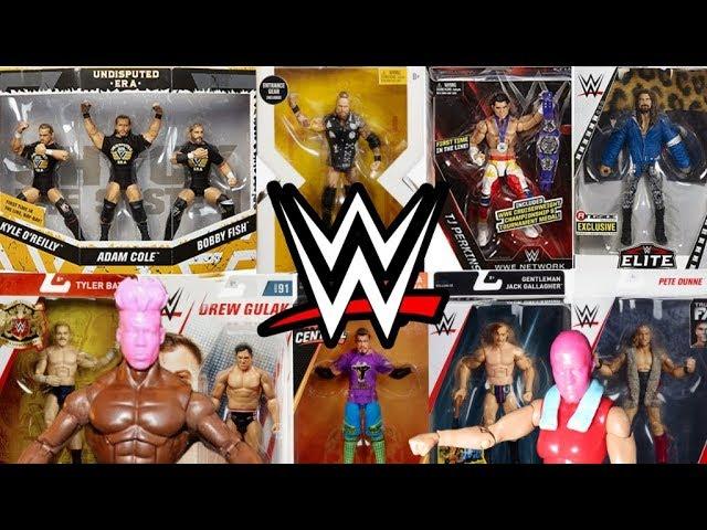 WWF WWE Elite Mattel lucha libre figura Rara Adam Cole NEW