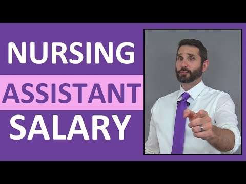 Nursing Assistant Salary | How Much Money Does a Nursing Attendant Make