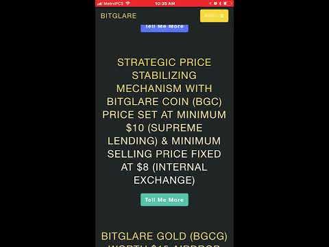 Hot New ICO Bitglare 5 Free Coins For Registering - ShayMarieInc