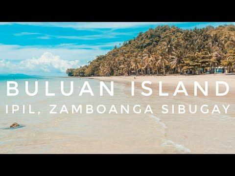 Buluan Island Beach, Ipil Zamboanga Sibugay Philippines Travel