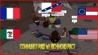 Community Raid With CSA/RM/AFE/TFA 90 People Raid - [Roblox] Elimination Raid