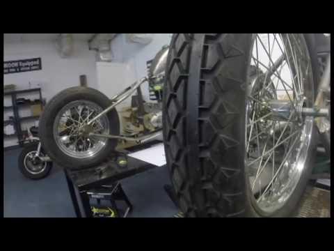 coker diamond tread rear motorcycle tire