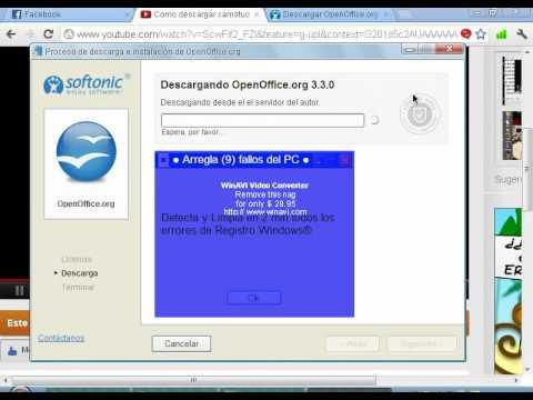 Como Descargar OpenOffice
