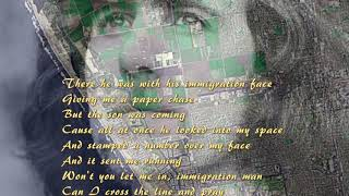Crosby Stills Nash Immigration Man (With Lyrics)
