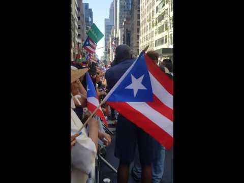 Parada puertoriqueña 2016