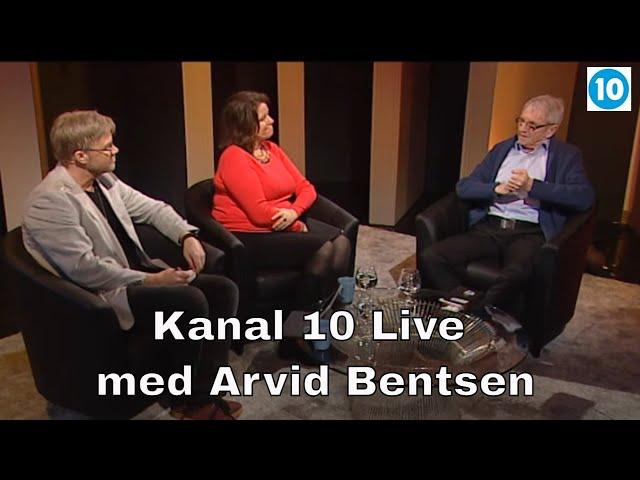 Kanal 10 Live | Kveldens gjest er Arvid Bentsen