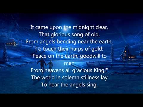 Kutless - It Came Upon A Midnight Clear (Lyrics)