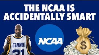 PAYING ATHLETES: THE ACCIDENTAL GENIUS OF THE NCAA