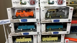 Lamley Showcase: M2 Machines Auto-Thentics VW Double Cabs & Chases - Coming to Walmart soon