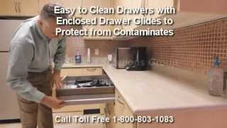 Manufactured Metal Casework | Modular Casework Cabinets | Movable Millwork Furniture Thumbnail