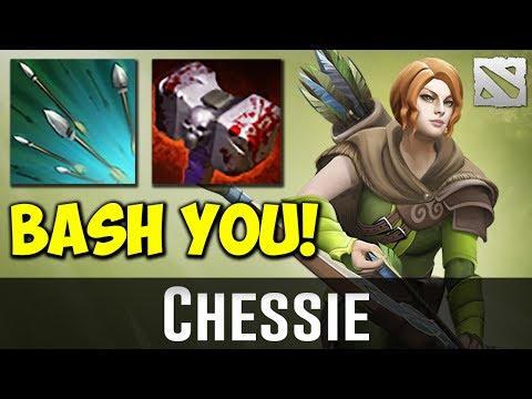 Chessie Windranger BASH MASHINE Dota 2