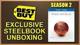 Westworld: Season 2 Best Buy Exclusive Blu-ray SteelBook Unboxing