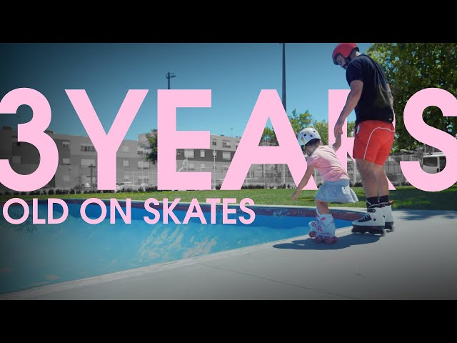 3 YEARS OLD SKATING // IS IT TOO GOOD TO BE TRUE?