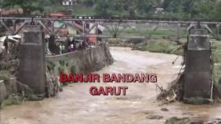 Lokasi Banjir Bandang di Garut Jadi Tempat Wisata Dadakan