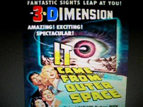 It came from outer space music youtube for Watch it came from outer space