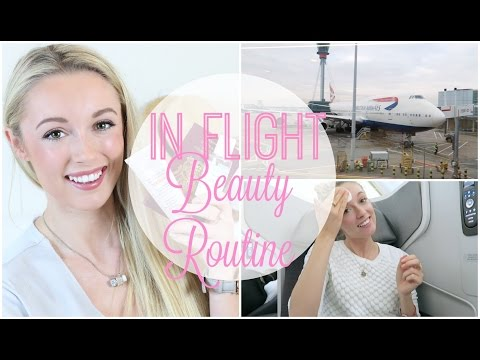 In Flight Beauty / Skincare Routine  |   Long Haul Edition!   |   Fashion Mumblr